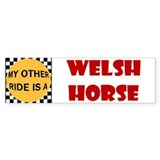My Other Ride Is A Welsh Horse Bumper Bumper Sticker