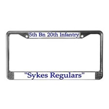 1st Bn 20th Infantry License Plate Frame