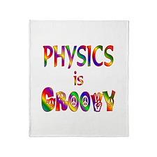 Physics is Groovy Throw Blanket