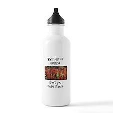 Quinoa plant Water Bottle