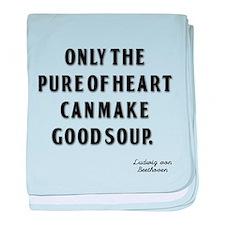 Good Soup baby blanket