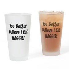 Haggis Drinking Glass