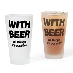 Beer Possibilities Drinking Glass