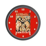 Fun At The Mardi Gras Wall Clock