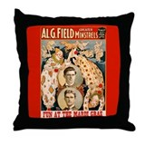 Fun At The Mardi Gras Throw Pillow