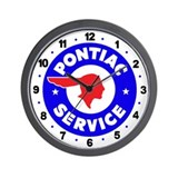 Pontiac Service Wall Clock