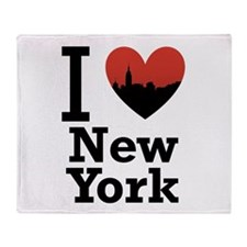 I love New York Throw Blanket