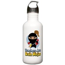 Teachers Are Brain Ninjas Water Bottle