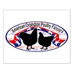American Orpington Club Logo Small Poster