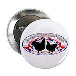 """American Orpington Club Logo 2.25"""" Button (10"""