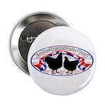"""American Orpington Club Logo 2.25"""" Button"""