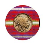 Indian Design-02a Ornament (Round)