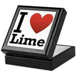 I Love Lime Keepsake Box