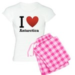 I Love Antarctica Women's Light Pajamas