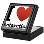 I Love Antarctica Keepsake Box