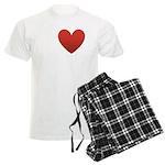 I Love Austin Men's Light Pajamas