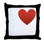 I Love Austin Throw Pillow