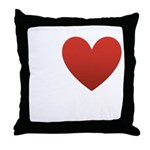 I Love Chocolate Throw Pillow