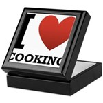 I Love Cooking Keepsake Box