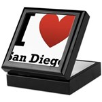 I Love San Diego Keepsake Box