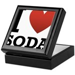 I Love Soda Keepsake Box