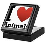 I Love Animals Keepsake Box
