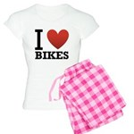 I Love Bikes Women's Light Pajamas
