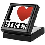 I Love Bikes Keepsake Box