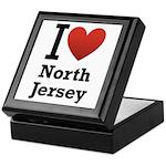 I <3 North Jersey Keepsake Box