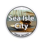 Sea Isle City Ornament (Round)