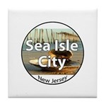 Sea Isle City Tile Coaster