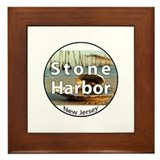 Stone Harbor Framed Tile