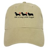 Get a Long Little Doggie Baseball Cap