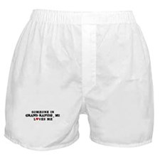Someone in Grand Rapids Boxer Shorts