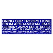 Bring ALL the Troops Home! - Bumper Bumper Sticker