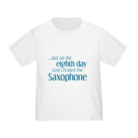 Saxophone Creation Toddler T-Shirt