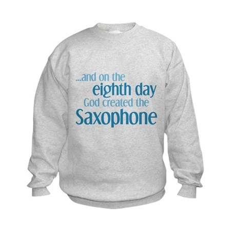 Saxophone Creation Kids Sweatshirt