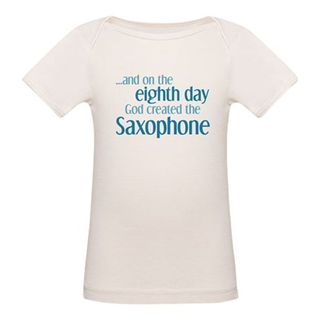 Saxophone Creation Organic Baby T-Shirt