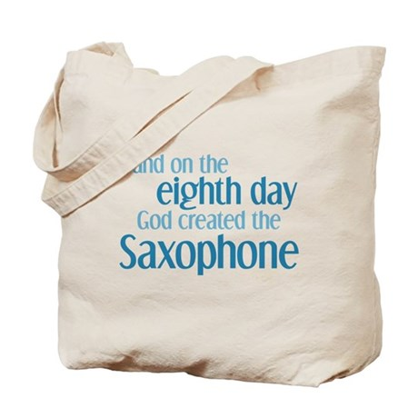 Saxophone Creation Tote Bag