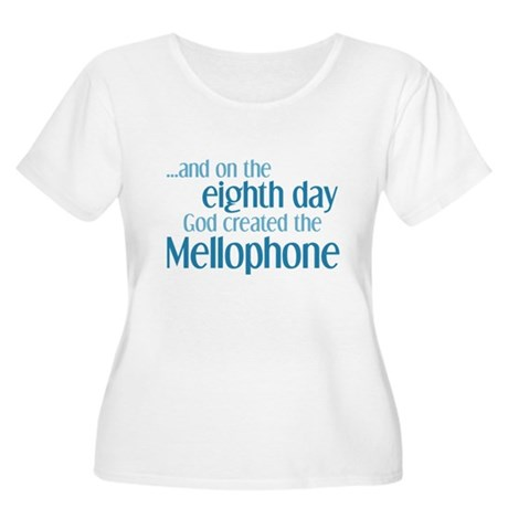 Mellophone Creation Women's Plus Size Scoop Neck T