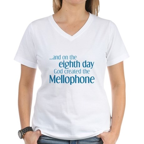 Mellophone Creation Women's V-Neck T-Shirt