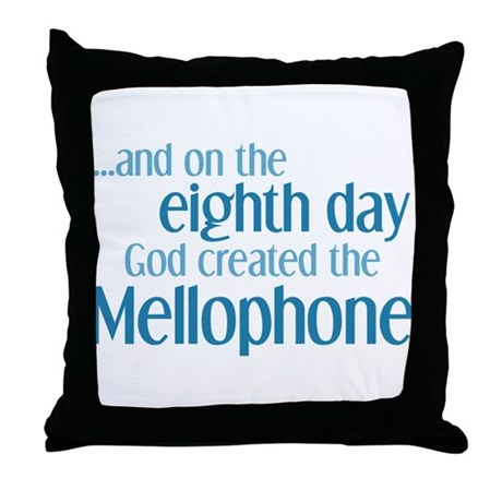 Mellophone Creation Throw Pillow