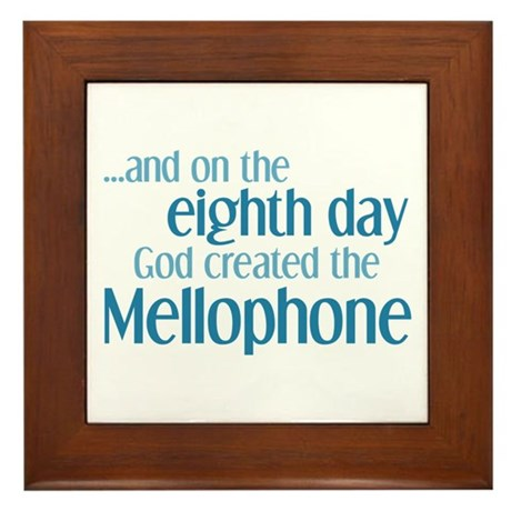 Mellophone Creation Framed Tile