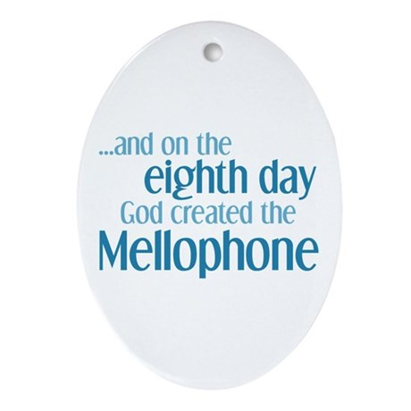Mellophone Creation Ornament (Oval)