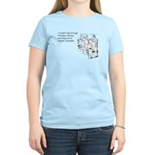 Equally Miserable Mondays Women's Light T-Shirt