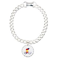 Colorado Cycling Charm Bracelet, One Charm