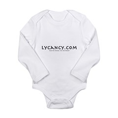 Lycancy Website Long Sleeve Infant Bodysuit