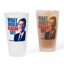 What Would Reagan Do? Design Drinking Glass