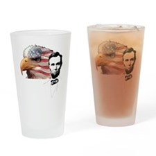 Abraham Lincoln Quote 3 Drinking Glass