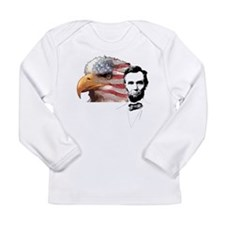 Abraham Lincoln Quote 3 Long Sleeve Infant T-Shirt